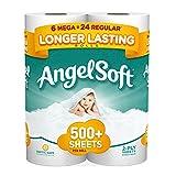 Angel Soft Mega Rolls, 6 Count