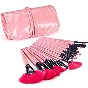 Amazon Lightning Deal 94% claimed: iLoveCos Makeup Brushes Make up Brushes Professional Wool Cosmetic Makeup Brush Set Kit--24 PCS