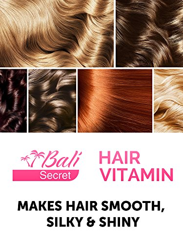 Hair Treatment Serum by Bali Secret - Improved Formula - No Need to Rinse - with Argan Macadamia Avocado Oils - Vitamins A C E Pro Vitamin B5 - Best Women Hair Oil Conditioner for All Hair Types