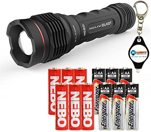 NEBO REDLINE Blast 1400 puissant Lumen Etanche Lampe de poche NE6542-FREE POST