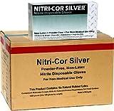 Nitri-Cor Blue Powder-Free, Disposable Nitrile Gloves, 1,000/Case (Large) (Large - 1000/Case)