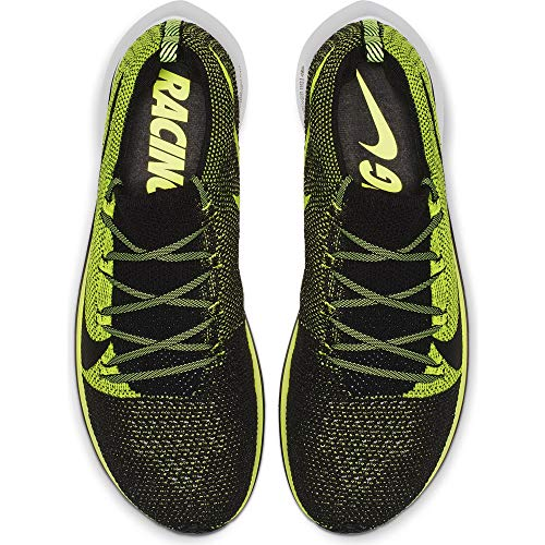 Nike Zoom Fly Flyknit Men's Running Shoe Black/Black-Volt-White Size 8 by Nike (Image #2)
