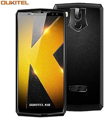 Telefonos Moviles, OUKITEL K10 4G Smartphone 6 Pulgadas (18: 9 ...