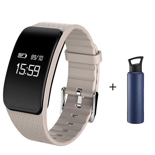 SZJNL Reloj Inteligente Smartwatch Hombre Mujer Impermeable ...