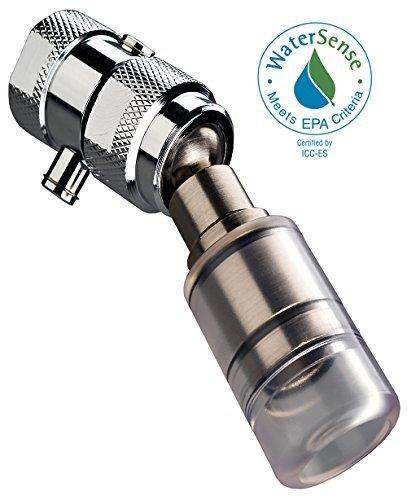 High Sierra's WaterSense Certified 1.8 GPM High Efficiency Low Flow Showerhead. Polished Chrome w/ Trickle Valve. by High Sierra Showerheads