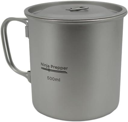 Ninja Prepper Furi Titanium Mug with Lid (500ml)