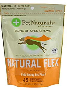 Pet Naturals Of Vermont Natural Flex Chews For Dogs 45 Count
