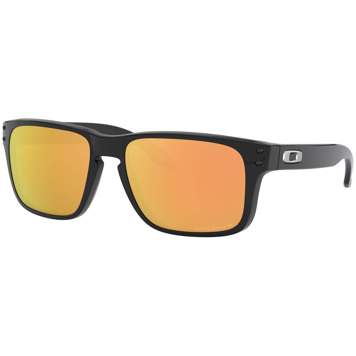 Oakley Big Girls' Holbrook XS Sunglasses,OS,Polished Black/Prizm Rose Gold Polarized