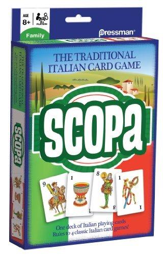 Scopa Card Game by Pressman Toy