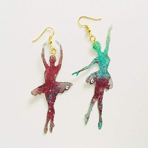 cc990ca6b146 Bailarinas pendientes - Joyas ballet - Joyería bailarinas - Accesorios  Kitsch - Novedad pendientes - Bisutería