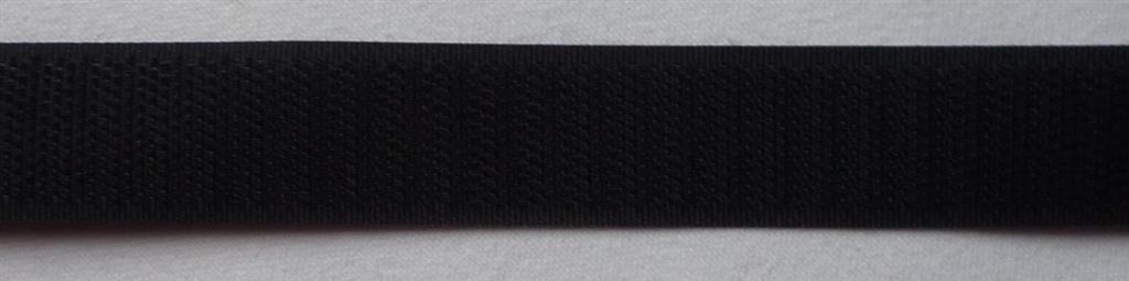 Nastro Gancio e chiusure in velcro (solo) 1m nero 20mm da cucire Prym 968922