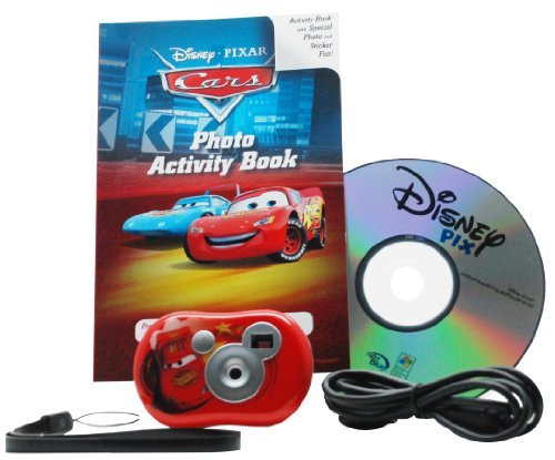 Cars Micro Camera Digital Pix (Digital Blue Disney Pix Micro Camera Creativity Kit - Cars by Digital Blue)