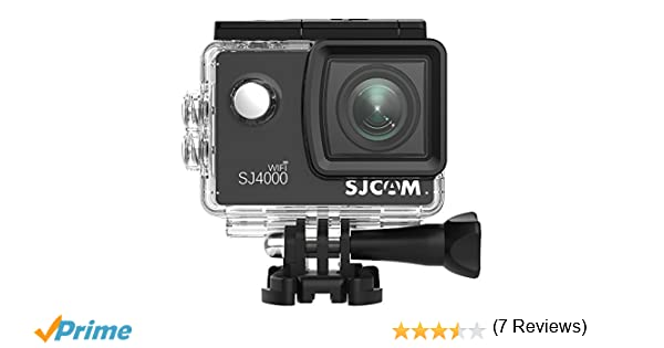 Videocámara de Acción SJCAM SJ4000 WiFi oficial