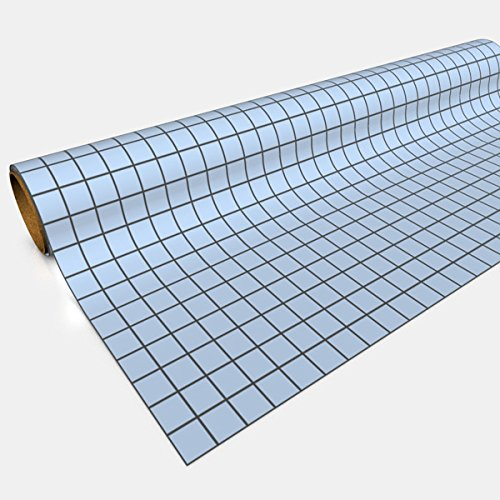Blue Gaming Paper 1in Squares 30in x 12ft 1 ()