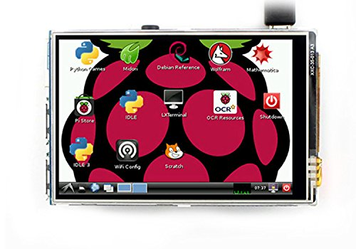 LANDZO 3.5 Inch Touch Screen 320480 for Raspberry Pi 3 Model B and Pi 2 Pi Zero Pi 1 with Touch Pen … (3.5 inch)