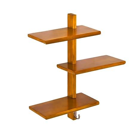 Jia He Estante LOFT colgante de pared estante cubo para dormitorio como tablilla estante de almacenamiento