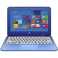 HP Stream 11-r014wm Notebook (NON-TOUCH), Windows 10 Home, Intel Celeron N3050 Processor, 2GB DDR3L SDRAM, Intel HD graphics, 32GB eMMC