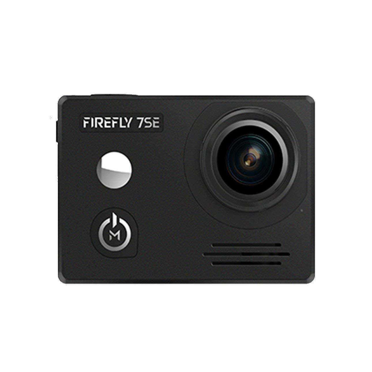 Ballylelly RC Drohne Zubehör Firefly7SE 1080P 170 ° FOV WiFi Blautooth FPV Wasserdichte HD Sport Action Kamera CAM für RC Drohne Luftaufnahmen