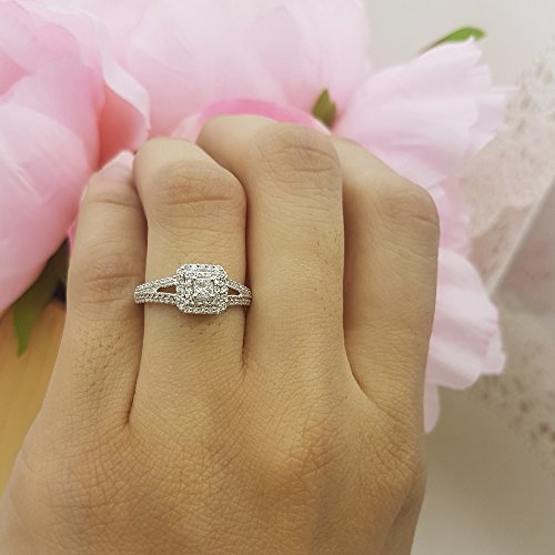 Affordable low price engagement rings for sale