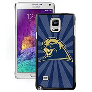 Fashionable And Unique Designed With NCAA Atlantic Coast Conference ACC Footballl Pittsburgh Panthers 6 Protective Cell Phone Hardshell Cover Case For Samsung Galaxy Note 4 N910A N910T N910P N910V N910R4 Black