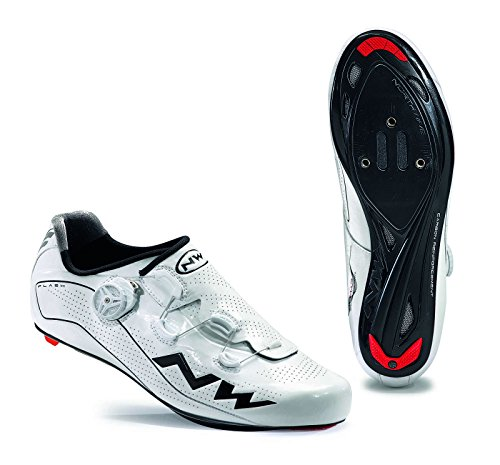 NORTHWAVE Chaussures velo route homme FLASH blanc