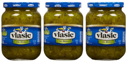 Vlasic Dill Relish, 10 oz, 3 pk ()
