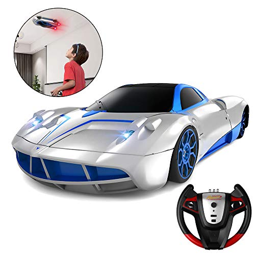 Remote Control Car, SHARKOOL 2019 Newest Wall Climbing Car Dual Mode 360° Rotating Stunt High Speed Rechargeable Race Toy Cars with LED Lights Best Gifts for All Adults and Kids