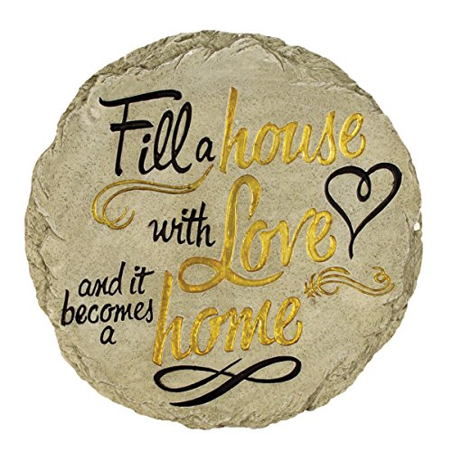 (Spoontiques Fill A House with Love Stepping Stone)