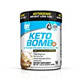 KETO BOMB is a delicious creamer designed for those looking to enhance weight loss and performance. KETO BOMB was designed for those that are following a ketogenic or low carb diet, and are looking to accelerate fat burning. Simply add one scoop to y...