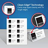 Avery-Clean Edge Laser Business Cards, 2 X 3 1/2, 10/Sheet, 200/Pack