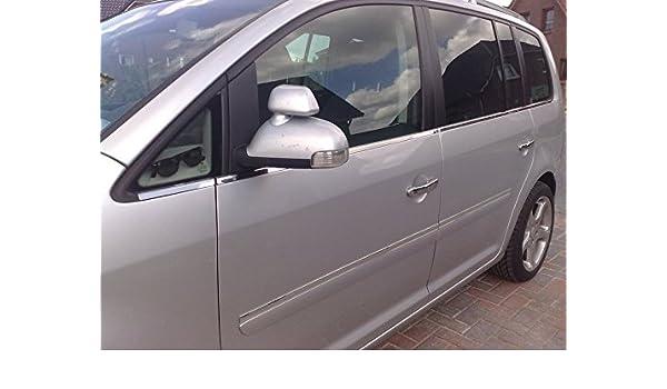 Opel Zafira B listones de cromo Ventana 8 piezas - Acero inoxidable: Amazon.es: Coche y moto