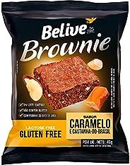 Brownie Caramelo com Castanha-Do-Brasil sem Glúten sem Lactose Belive 40g