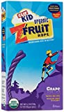 CLIF KID ZFRUIT - Organic Fruit Rope - Grape - (0.7 oz)