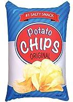 iscream Tasty Treats Potato Chips Microbead Pillow