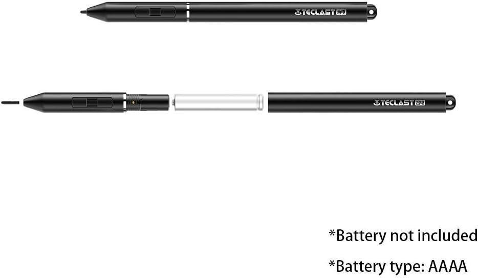 Broonel Penna Stilo Digitale Nera A Punta Fine Compatibile con la TEClaST F5R PC 360 Degree Rotatable 11.6 Touch Screen