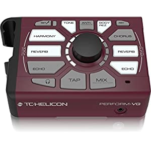 TC Helicon Vocal Effects Processor, Burgundy (000-DED02-00010)