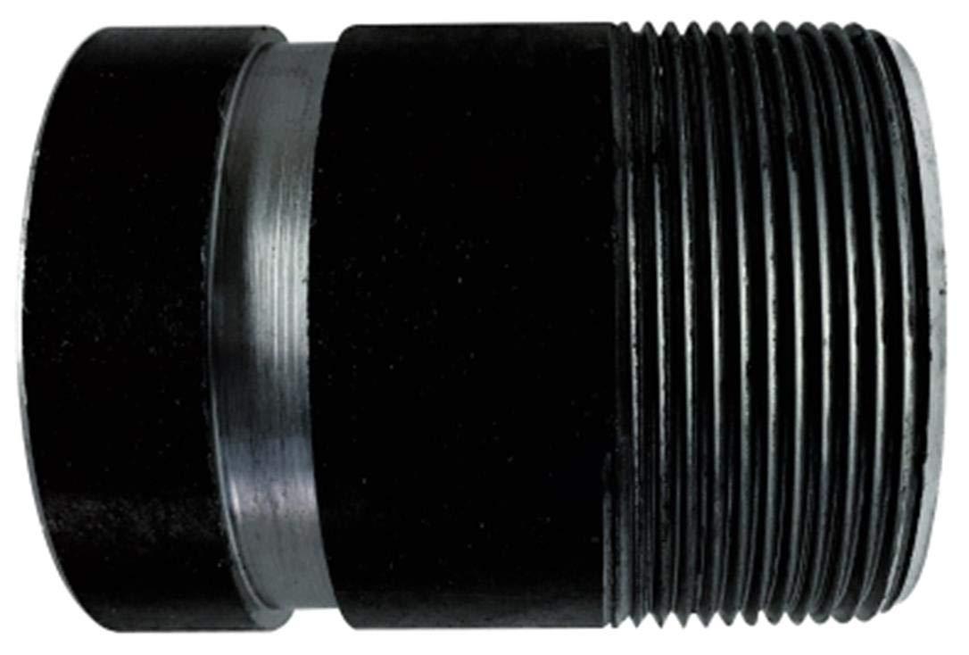 SCH 40 Seamless 4 OD Steel 10 Length 4 Diameter black 4 Diameter 10 Length 4 OD Midland Metal Midland 57332V Steel Groove Nipple