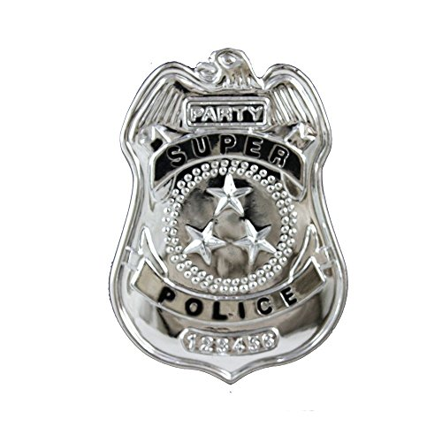 Police Badge Small Accessory (Costumes Police Badges)