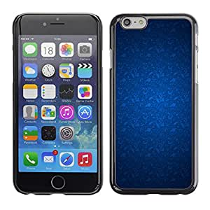MOBMART Carcasa Funda Case Cover Armor Shell PARA Apple iPhone 6 PLUS / 6S PLUS 5.5 - Blue Feathery Pattern