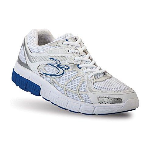 Zwaartekracht Defyer Heren G-tarten Super Lopen Sportschoenen Blauw, Wit