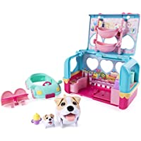 Chubby Puppies & Friends Vacation Camper Playset