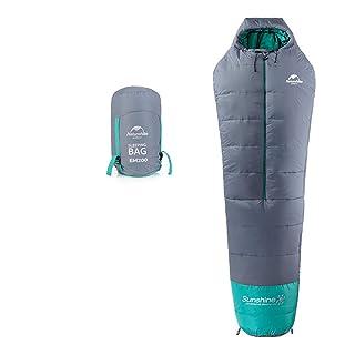 JSX Sacco a Pelo per Adulti, Sacco a Pelo Leggero e Confortevole Impermeabile e Caldo - Escursionismo, Sport all'Aria Aperta
