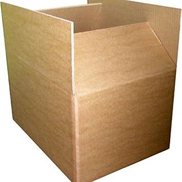 Cajas de cartón de doble pared de 800-600-600 mm 5: Amazon.es: Oficina y papelería