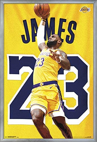 Lebron James Lakers Poster 11x17