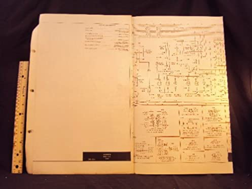 1973 73 ford pinto electrical wiring diagrams manual ~original ford ford  pinto wiring starter 1973