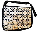 Ivory Dominoes TM Laptop Messenger Bag for Laptop/Notebook Computers -