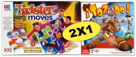 Hasbro Juegos Infantiles Twister Moves + Tozudo Toy Story 38299500 ...