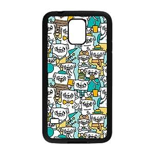 Cute Cartoon Puppy White Samsung Galaxy S5 case