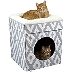 Kitty City Large Cat Bed, Cat Cube, Cat House/Cat Condo, Pop Up Bed, Stackable Bed