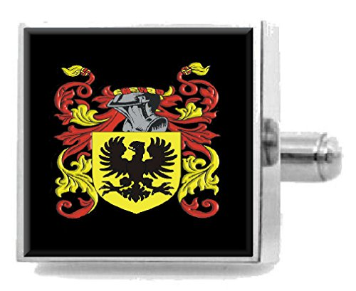 Select Gifts Childress England Family Crest Surname Coat Of Arms Tie Clip Engraved In Pouch
